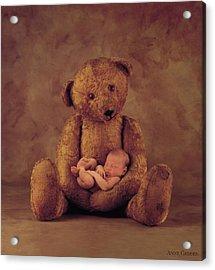 Big Ted Acrylic Print by Anne Geddes