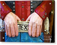 Big Tex Acrylic Print