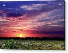 Big Texas Sky Acrylic Print