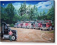 Big Trucks Acrylic Print