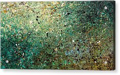 Acrylic Print featuring the painting Big Universe - Abstract Art by Carmen Guedez