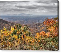 Big Valley Acrylic Print by Michael Edwards
