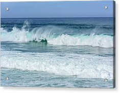 Acrylic Print featuring the photograph Big Waves by Marion McCristall