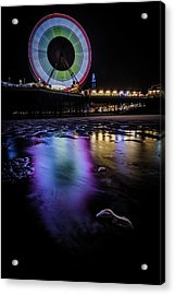 Big Wheel Colour  Acrylic Print