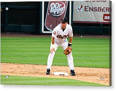 Biggio At Second Acrylic Print