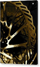 Bike Brake Acrylic Print by Angie Wingerd