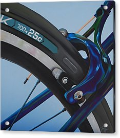 Bike Brake Acrylic Print