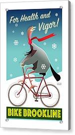 Bike Brookline Acrylic Print