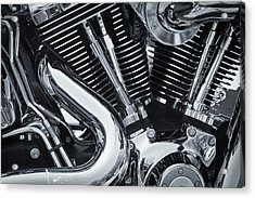 Bike Chrome Acrylic Print