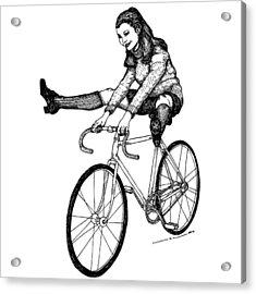 Bike Fun Acrylic Print by Karl Addison
