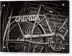 Acrylic Print featuring the photograph Bike Over Chevelles by Greg Mimbs