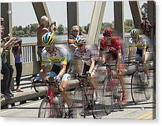 Bike Race Acrylic Print