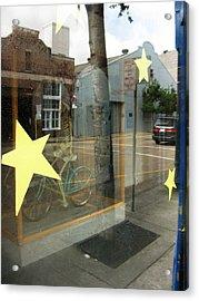 Bike Acrylic Print by Tom Hefko