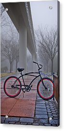 Bike Under Maglev Acrylic Print