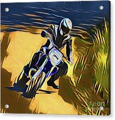 Biker 21018 Acrylic Print