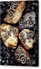 Biking Trail Scene Acrylic Print