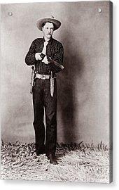 Bill Bennett, Wild West Detective Acrylic Print by Everett