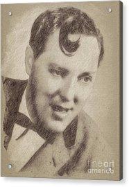 Bill Haley, Music Legend By John Springfield Acrylic Print by John Springfield