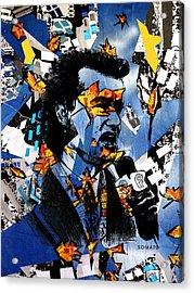 Bill Murray, City News - Og Autumn Remix Acrylic Print