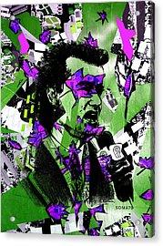 Bill Murray, City News - Og Joker Remix Acrylic Print
