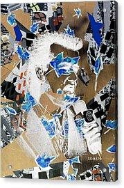 Bill Murray, City News - Og Winter Remix Acrylic Print