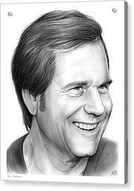 Bill Paxton Acrylic Print by Greg Joens