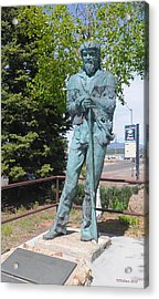 Bill Williams Statue Acrylic Print
