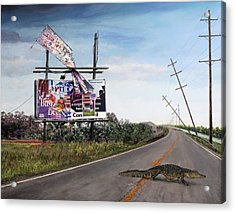 Billboard Thief Acrylic Print