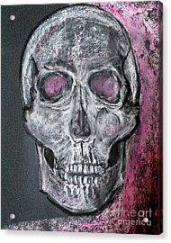 Billie's Skull Acrylic Print