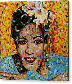 Billie Acrylic Print by Denise Landis