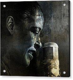 Billie Holiday - All That Jazz Acrylic Print