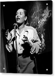 Billie Holiday  New York City Circa 1948 Acrylic Print