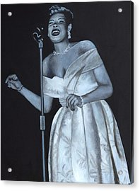 Billie Holiday Acrylic Print by Patrick Kelly