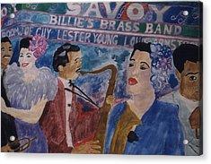 Billie's Brass Band Acrylic Print