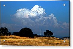 Billowing Thunderhead Acrylic Print