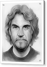Billy Connolly Acrylic Print