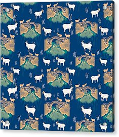 Billy Goat Gruff Acrylic Print