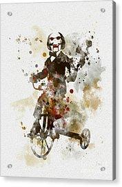 Billy Acrylic Print by Rebecca Jenkins