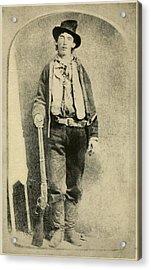 Billy The Kid 1859-81, Killed Twenty Acrylic Print