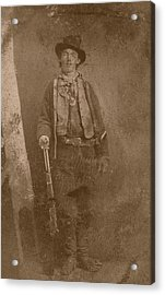 Billy The Kid Acrylic Print by War Is Hell Store