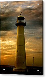 Biloxi Lighthouse - Sunrise Acrylic Print