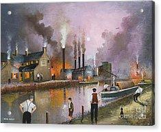 Bilston Steelworks Acrylic Print