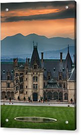 Biltmore At Sunset Acrylic Print by John Haldane