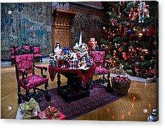 Biltmore Christmas   Acrylic Print