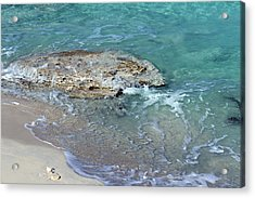 Bimini After Wave Acrylic Print