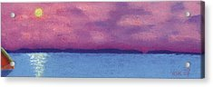 Bimini Sunrise Acrylic Print