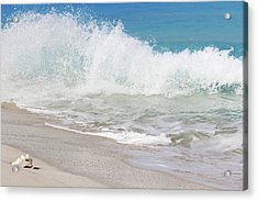 Bimini Wave Sequence 1 Acrylic Print