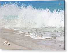 Bimini Wave Sequence 2 Acrylic Print