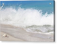 Bimini Wave Sequence 3 Acrylic Print