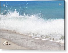 Bimini Wave Sequence 4 Acrylic Print
